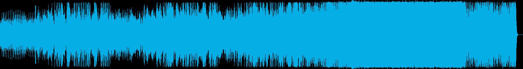 星や月がイメージのCMに合うバラードの再生済みの波形