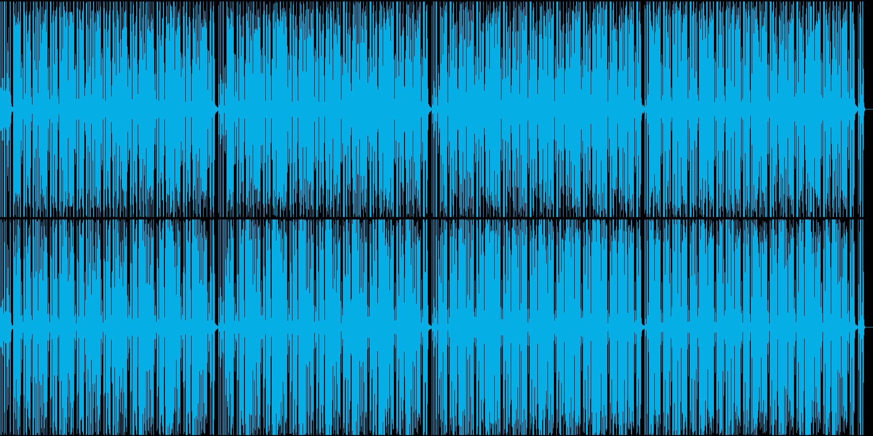 オールドクラシックなファンクの再生済みの波形