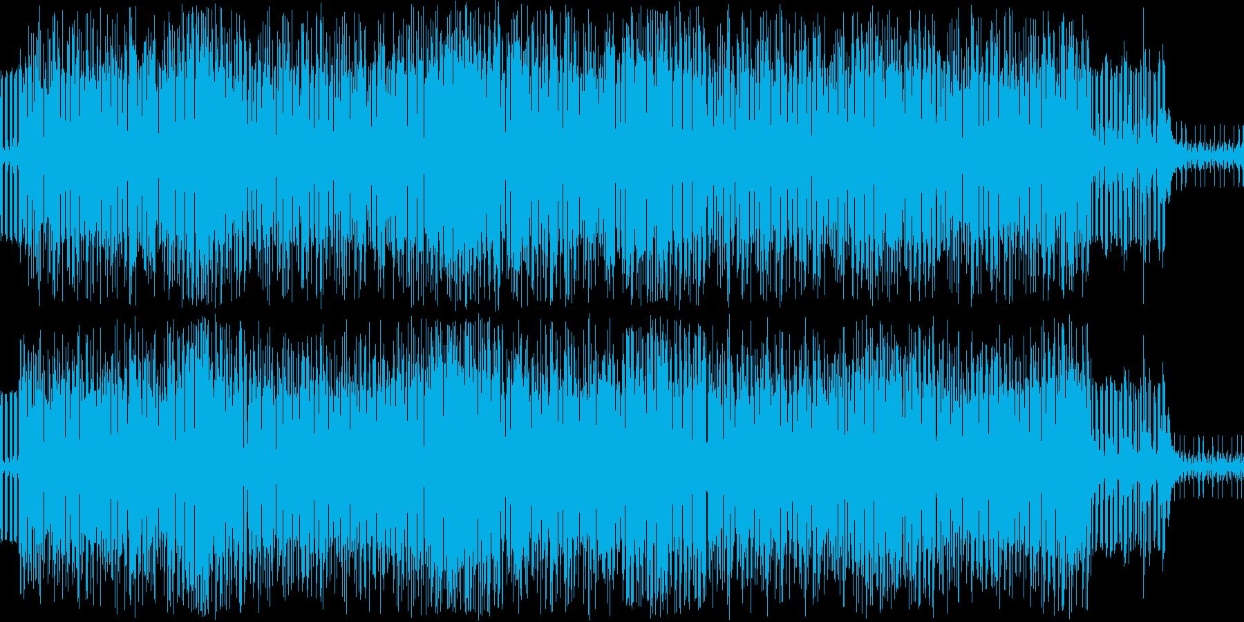 落ち着いた雰囲気のシーンに最適な楽曲ですの再生済みの波形