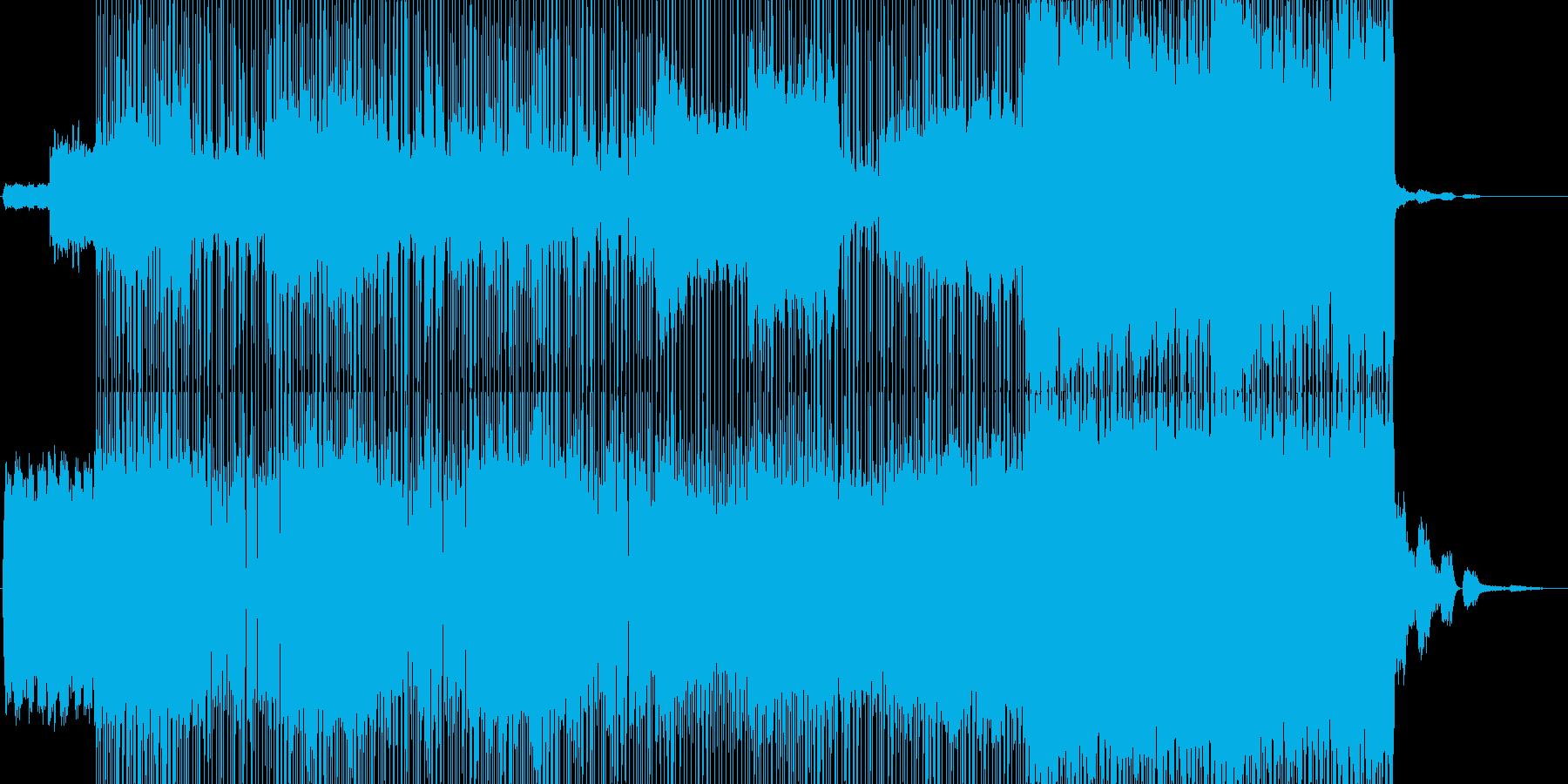 音楽    幻想的なイメージで…の再生済みの波形