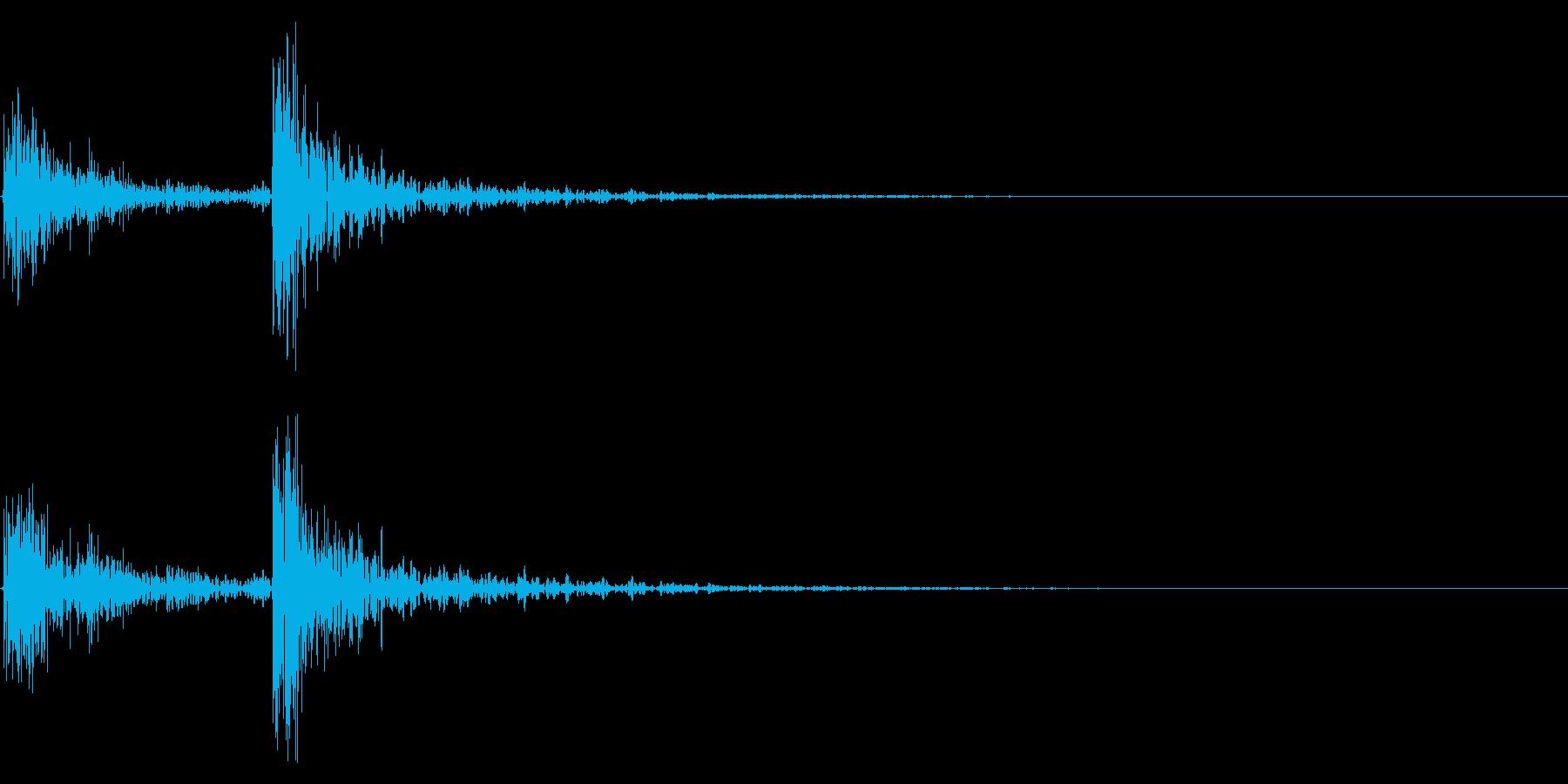 ドンドンの再生済みの波形