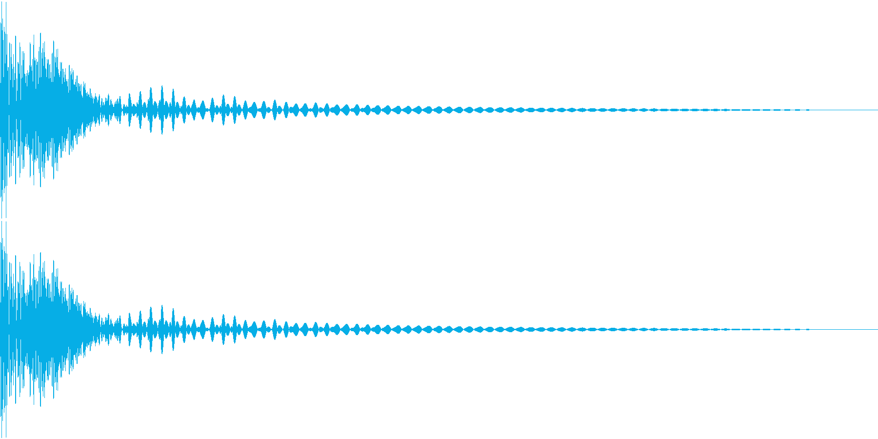 DTM Tom 32 オリジナル音源の再生済みの波形