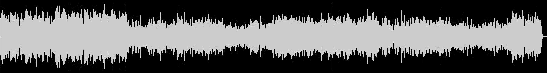 ピアノ2台の豪華な曲・1楽章(バッハ)の未再生の波形