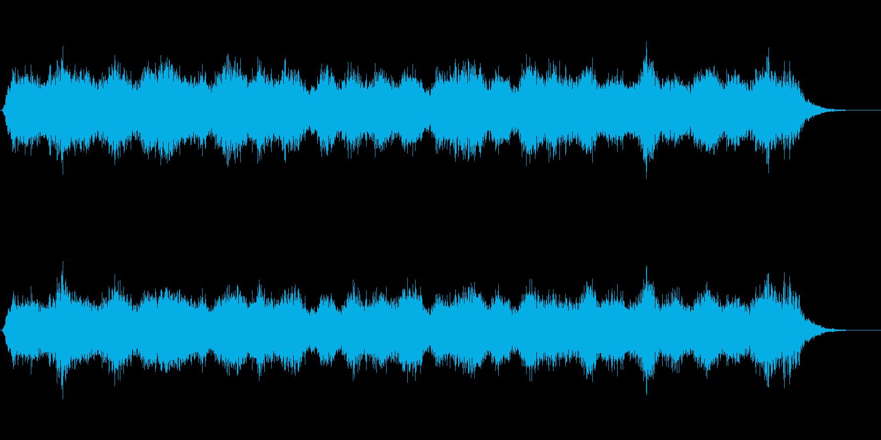 癒しの曲です。の再生済みの波形