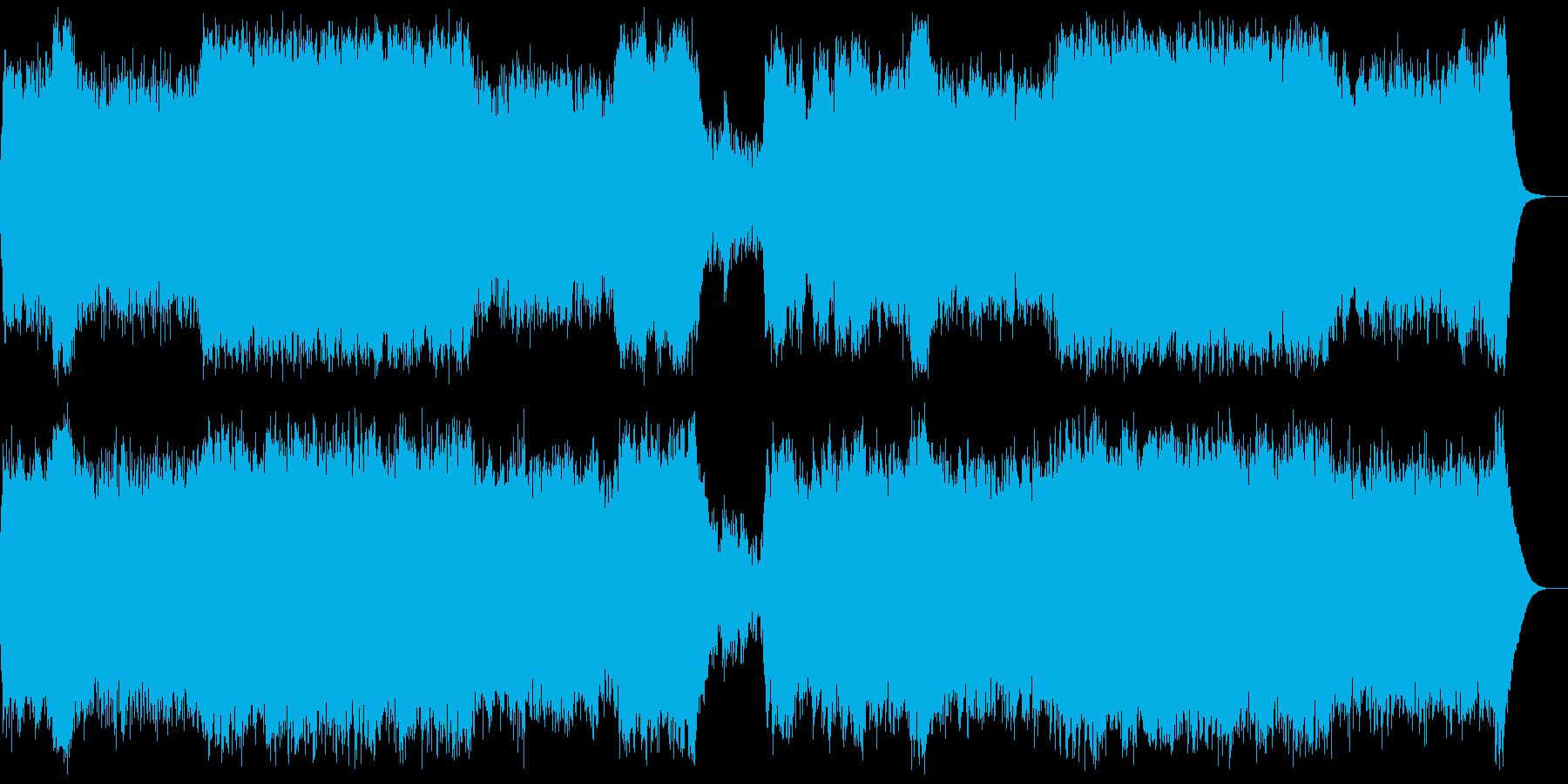 決意・最終決戦・戦闘・オーケストラの再生済みの波形