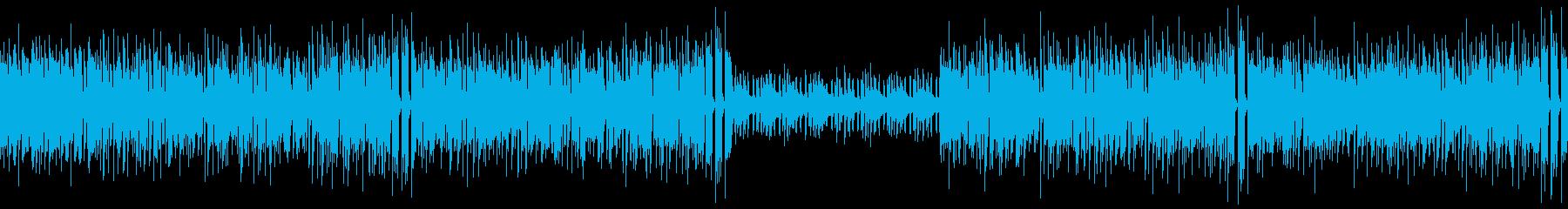 【ベース・ドラム抜き】クラビネット主体…の再生済みの波形