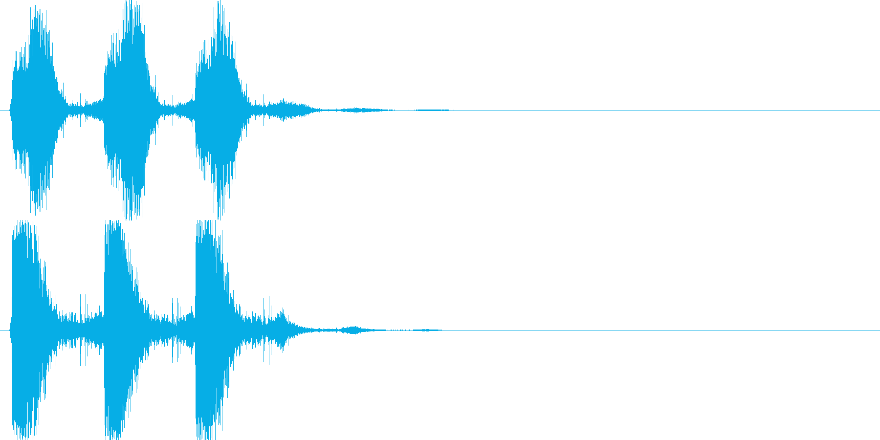 シャッシャッシャッ(振りかけ、塩)の再生済みの波形