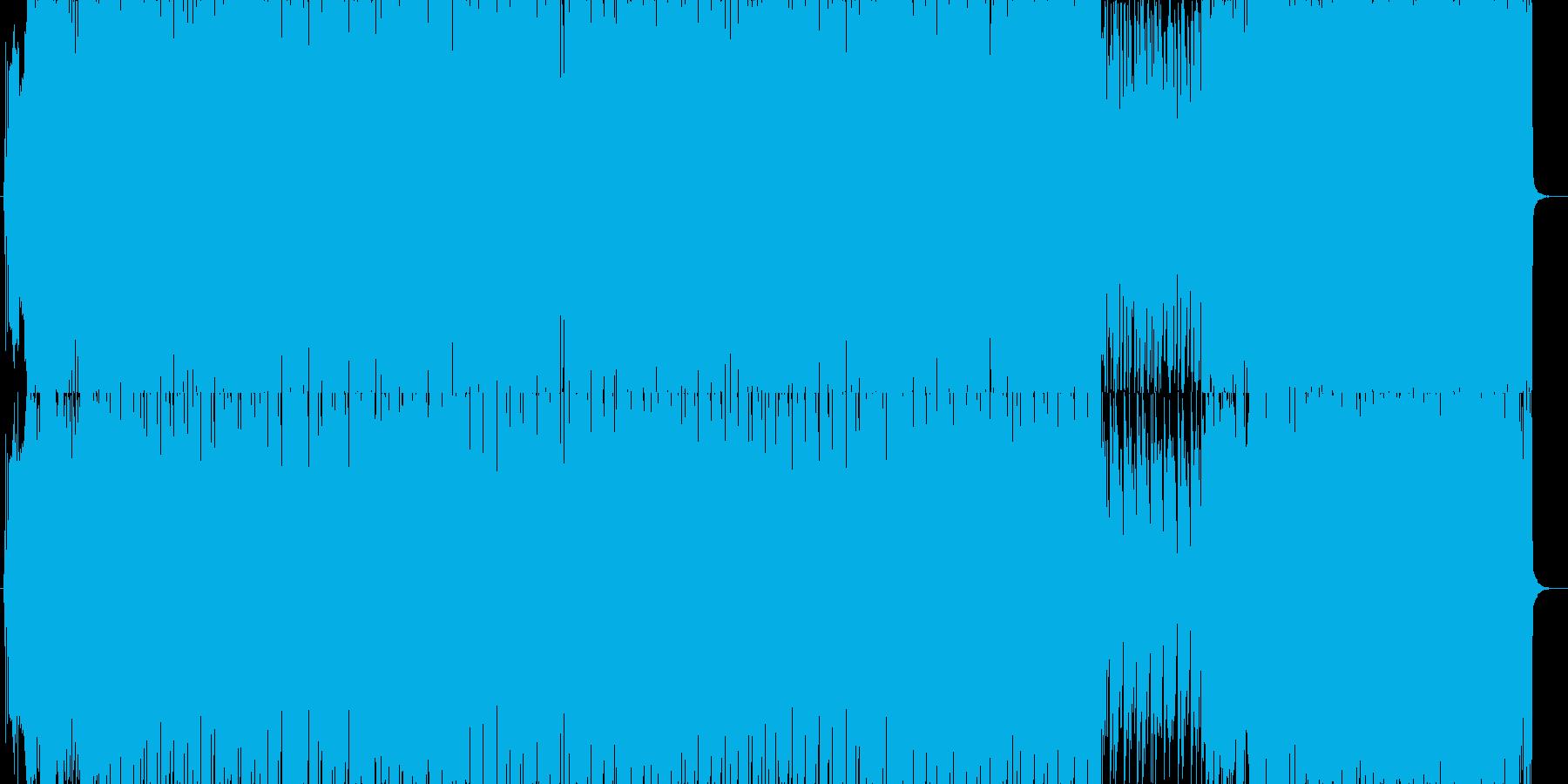 シンセが元気に楽しくピコピコ鳴ってくれ…の再生済みの波形