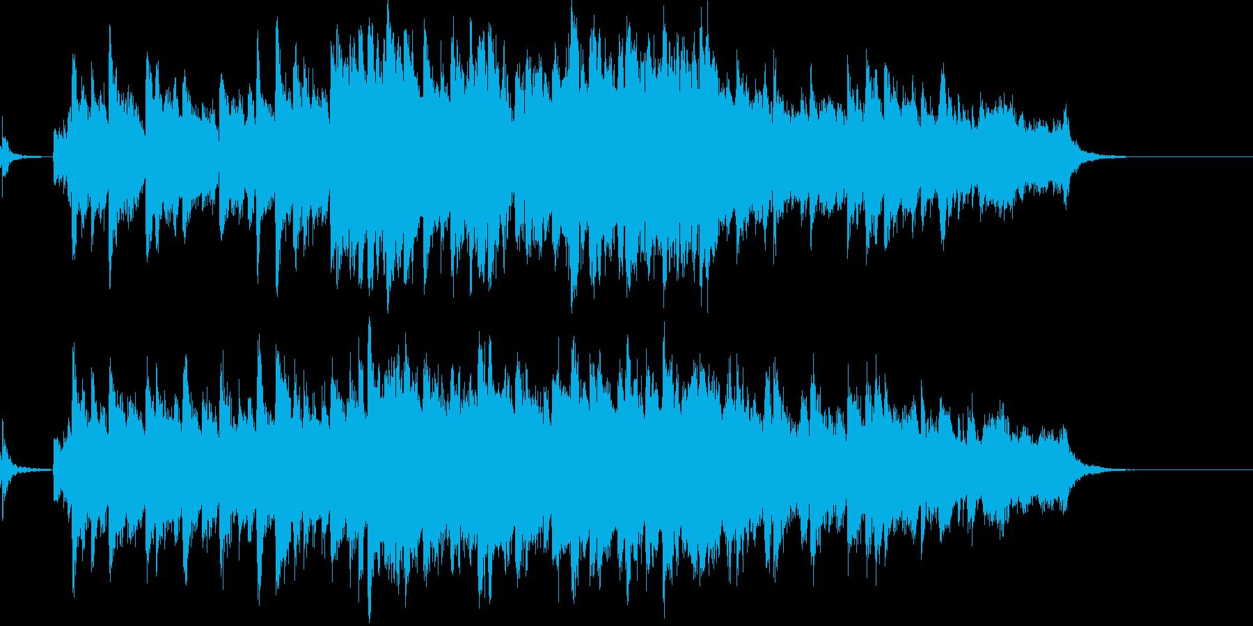 和の柔らかさある季節を感じる曲の再生済みの波形
