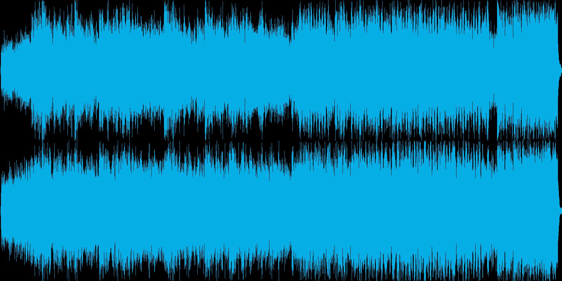 ミステリアスで神秘的な短調の曲です。の再生済みの波形