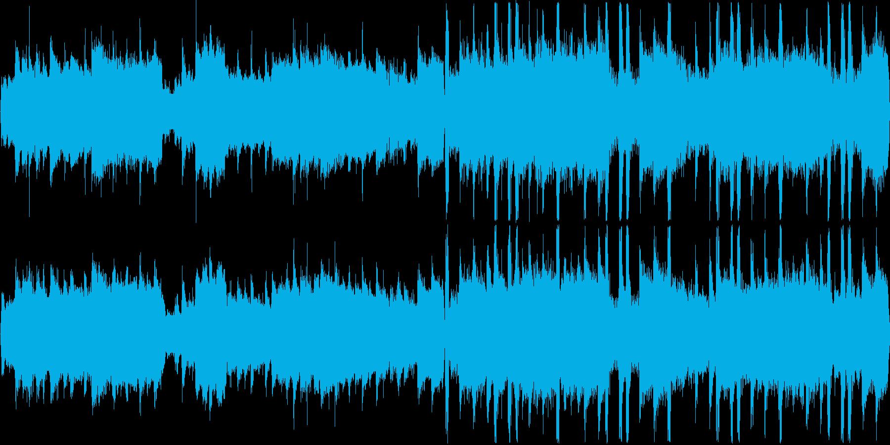 琴を使用したバラードです。の再生済みの波形