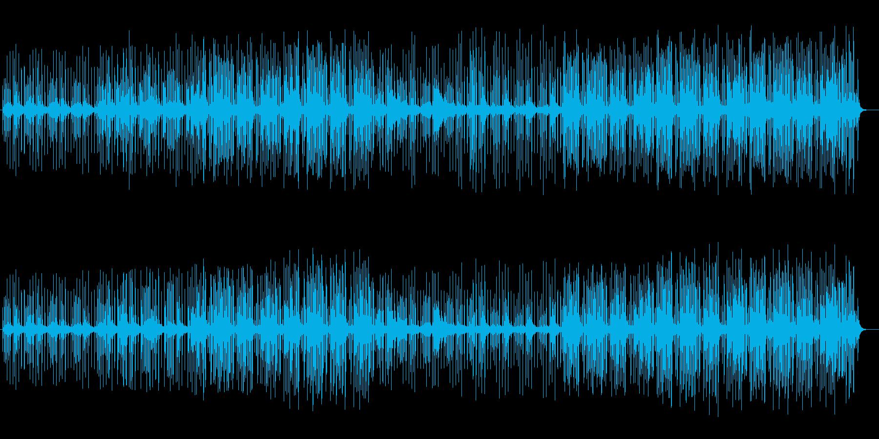 ゆったりファンタジー打楽器シンセサウンドの再生済みの波形