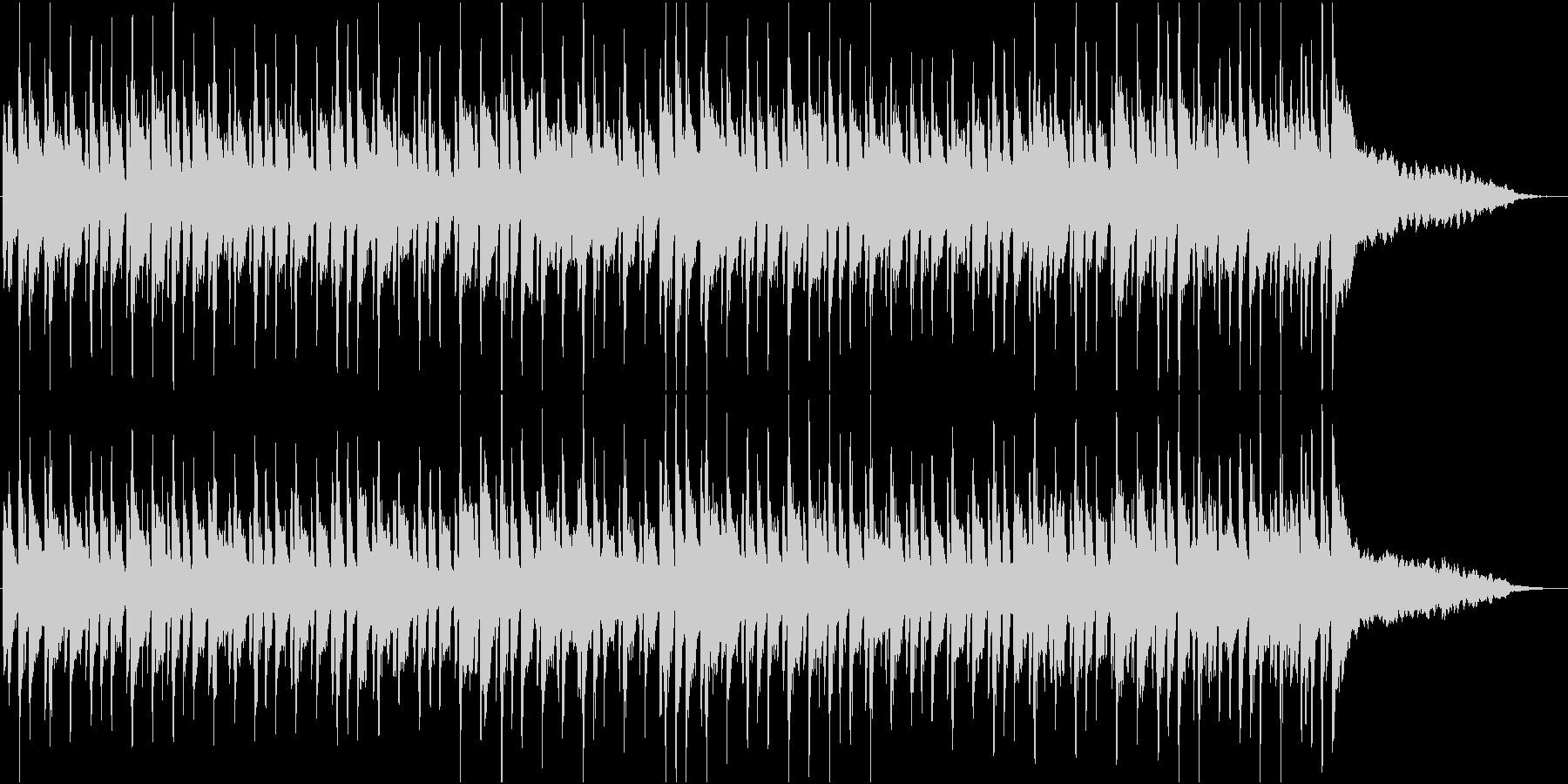 キャッチーなピアノのポップフュージョンの未再生の波形