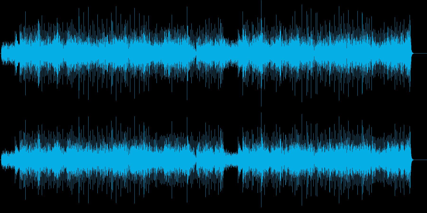 アシッド感覚のジャズ/フュージョンの再生済みの波形