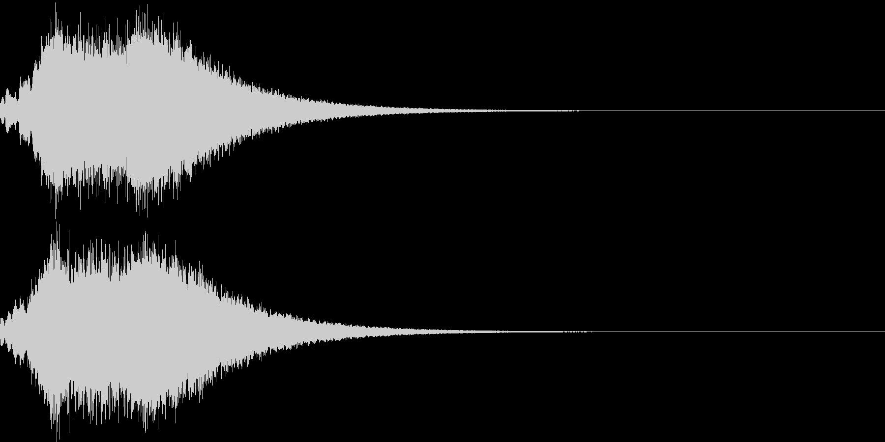 キラキラ シャララーン アイキャッチ09の未再生の波形
