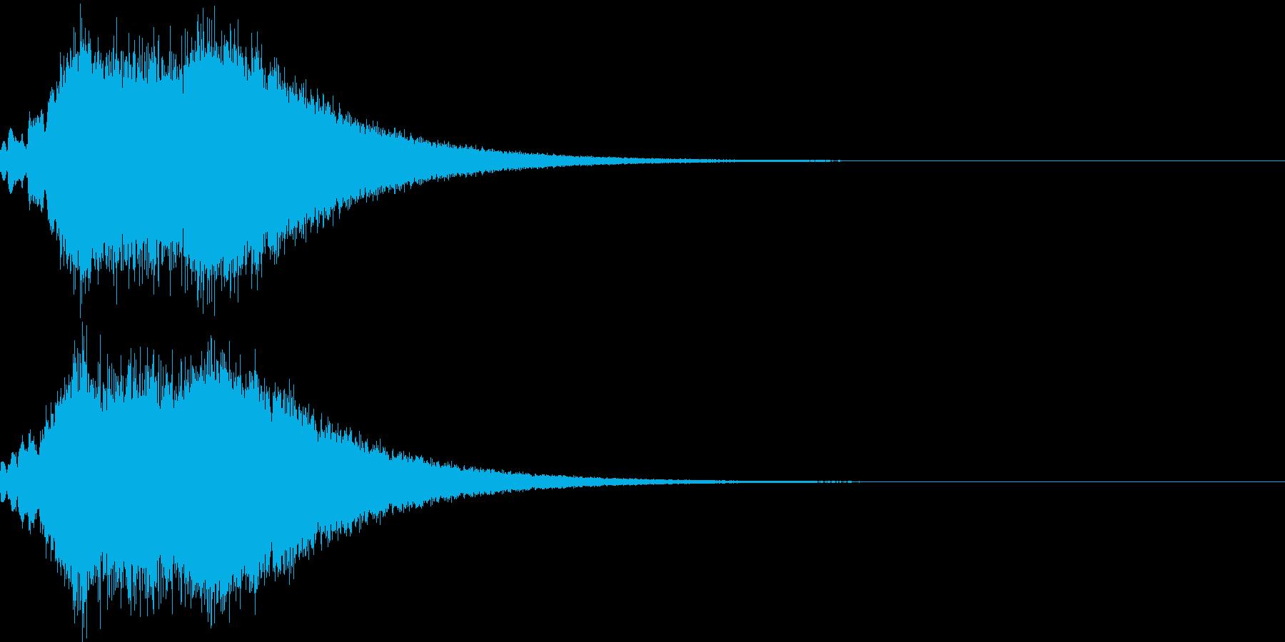 キラキラ シャララーン アイキャッチ09の再生済みの波形