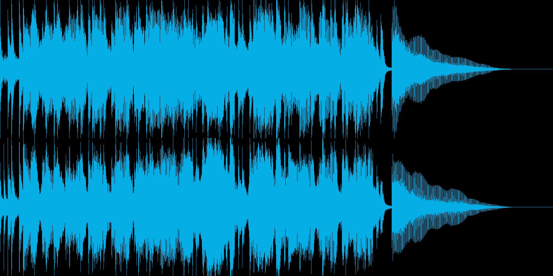 楽しく勉強する歌 中央アメリカの国々の再生済みの波形