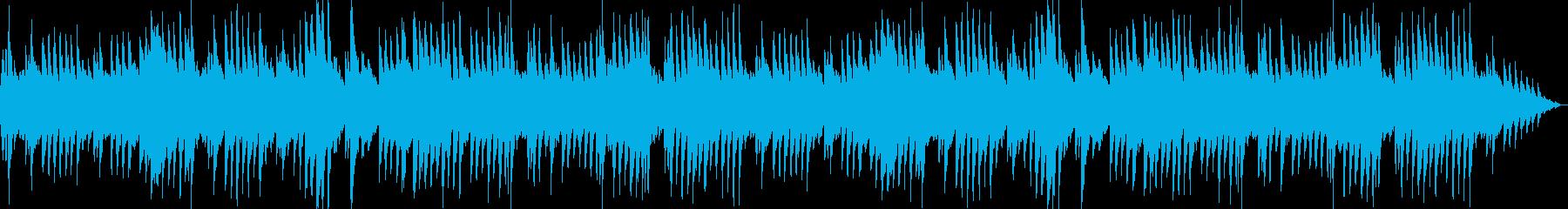 悲しく切ないピアノソロ、ゲームBGM系の再生済みの波形
