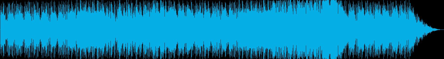まったりインストの再生済みの波形