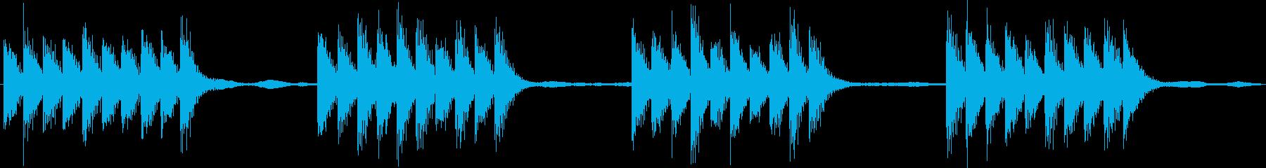 スマホなどの着信音に。シンプルでクール。の再生済みの波形