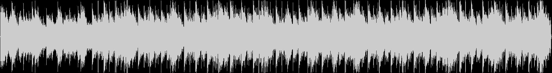 緊迫感のあるデジタルサウンド_脱出_推理の未再生の波形