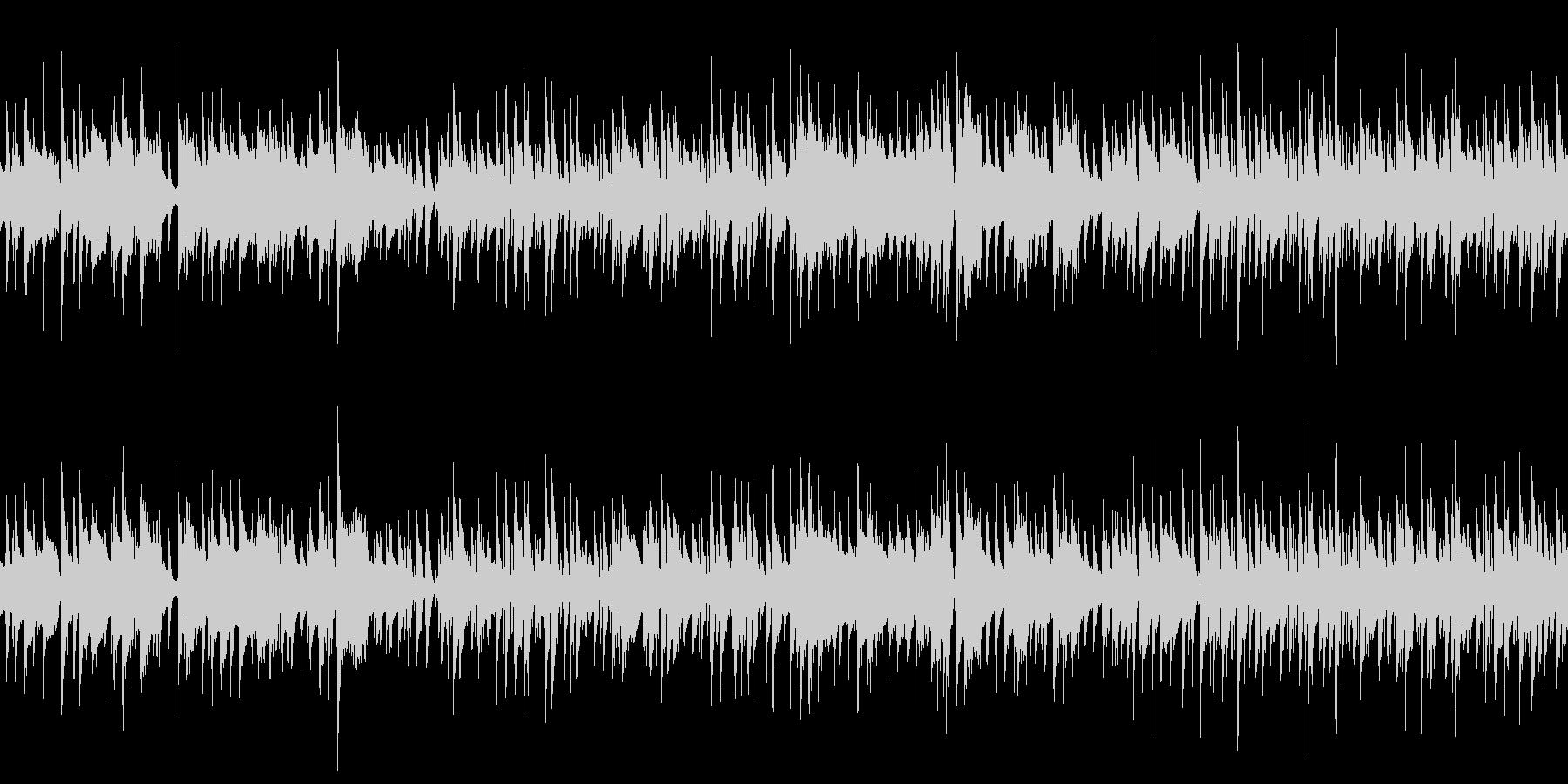 待機シーンのBGM (ループ仕様)の未再生の波形