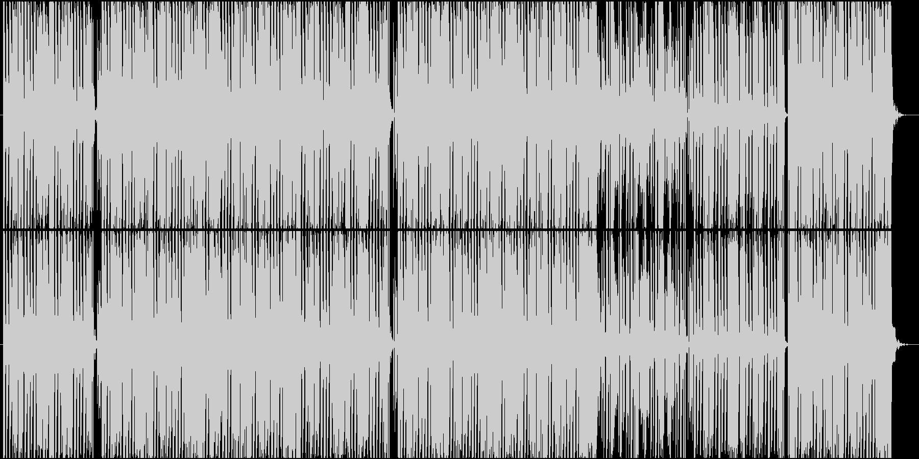 軽快でポップなテクノ楽曲 No.2の未再生の波形