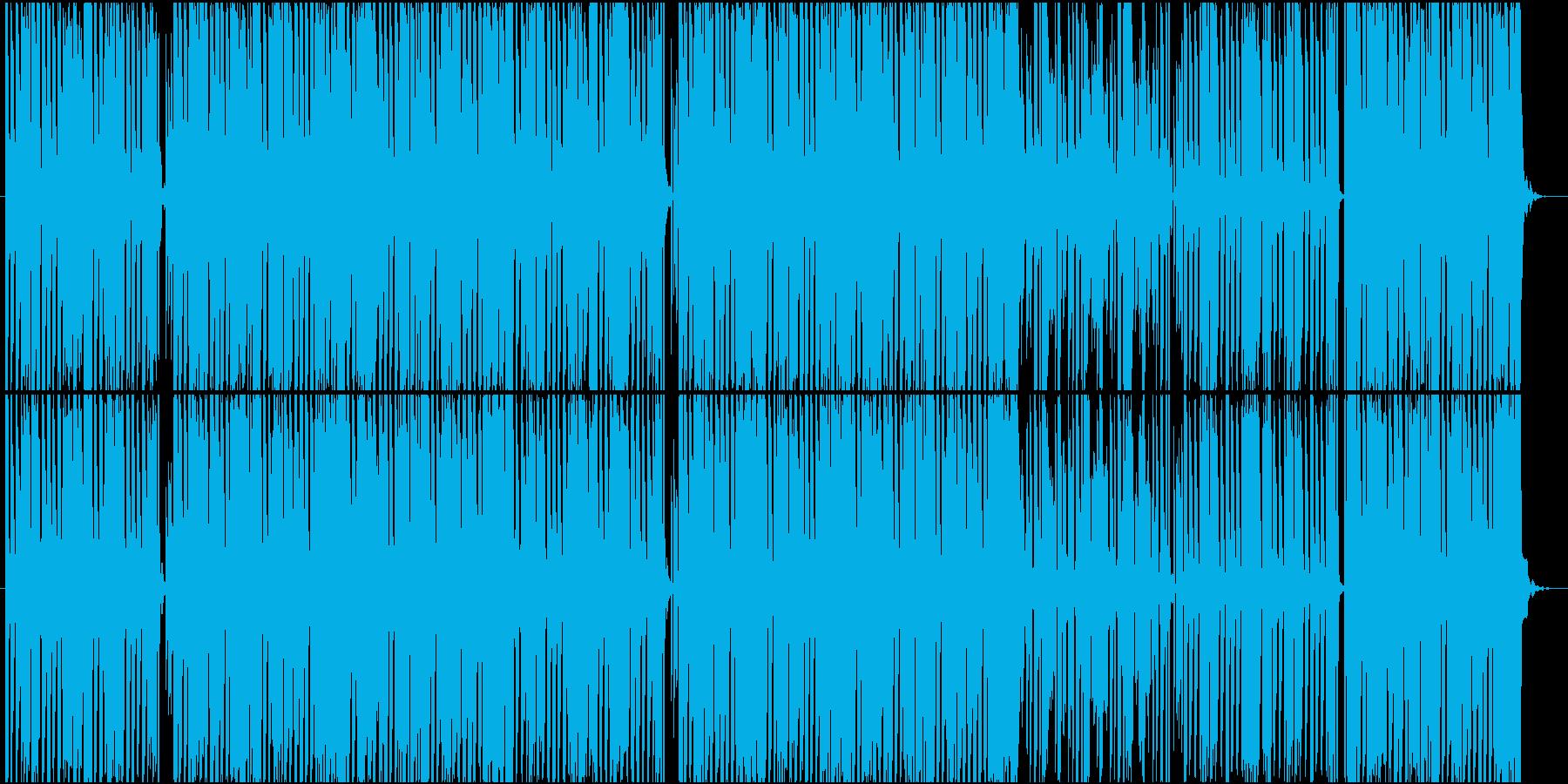 軽快でポップなテクノ楽曲 No.2の再生済みの波形