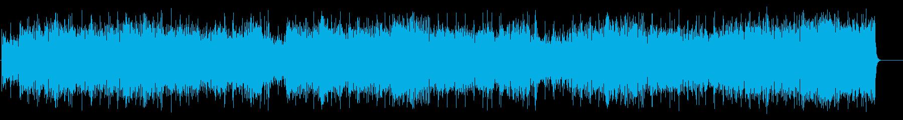 軽快なガールズポップス(フルサイズ)の再生済みの波形