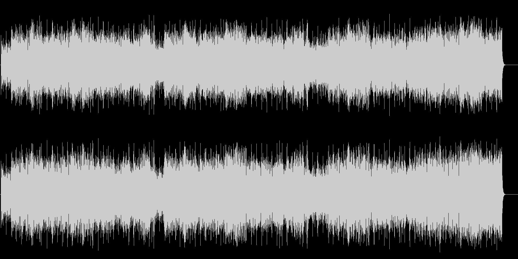 軽快なガールズポップス(フルサイズ)の未再生の波形