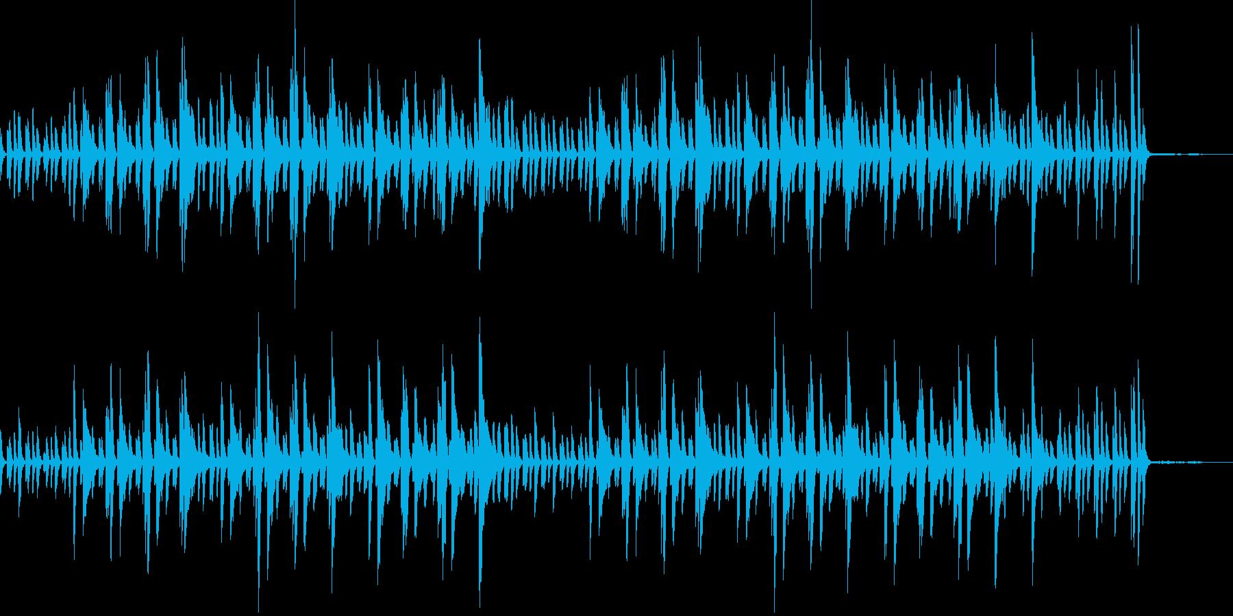 日常パート・ピアノソロ・説明・紹介(速)の再生済みの波形