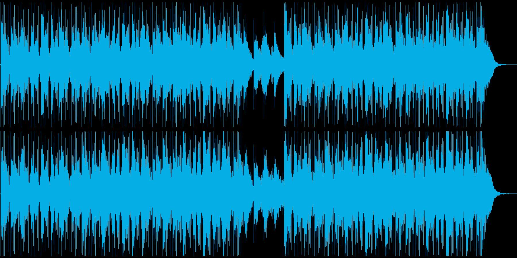 ニューエイジ系BGMの再生済みの波形