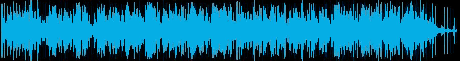イージーリスニングジャズの再生済みの波形