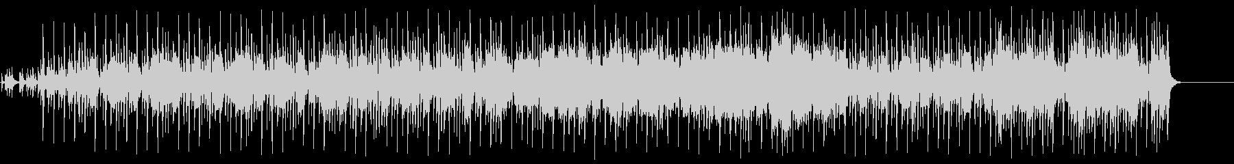 オリエンタルなムードのポップ/BGの未再生の波形