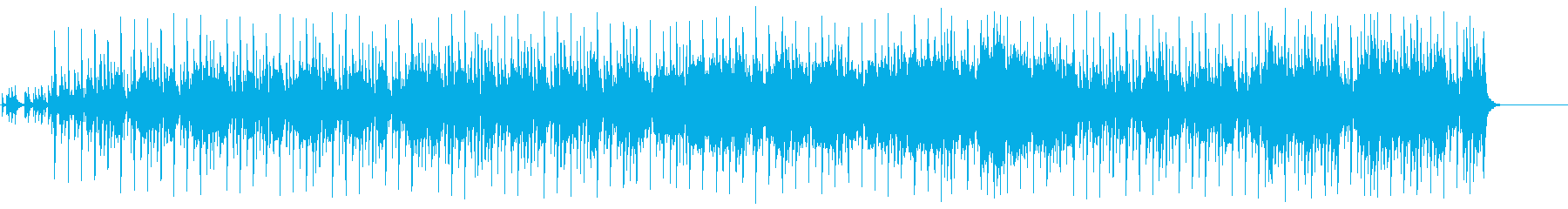 オリエンタルなムードのポップ/BGの再生済みの波形