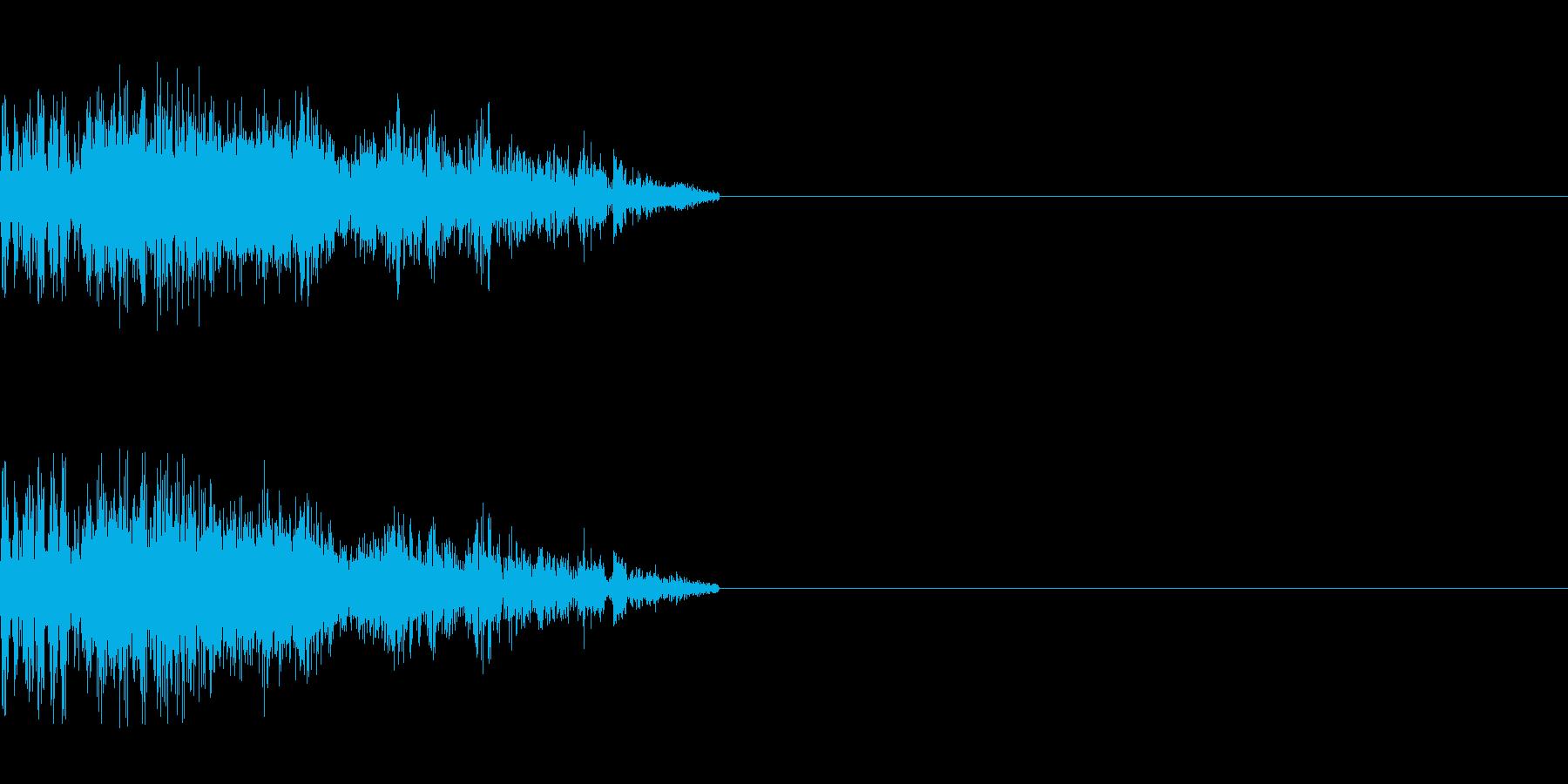 ゾンビの発声(攻撃2)の再生済みの波形