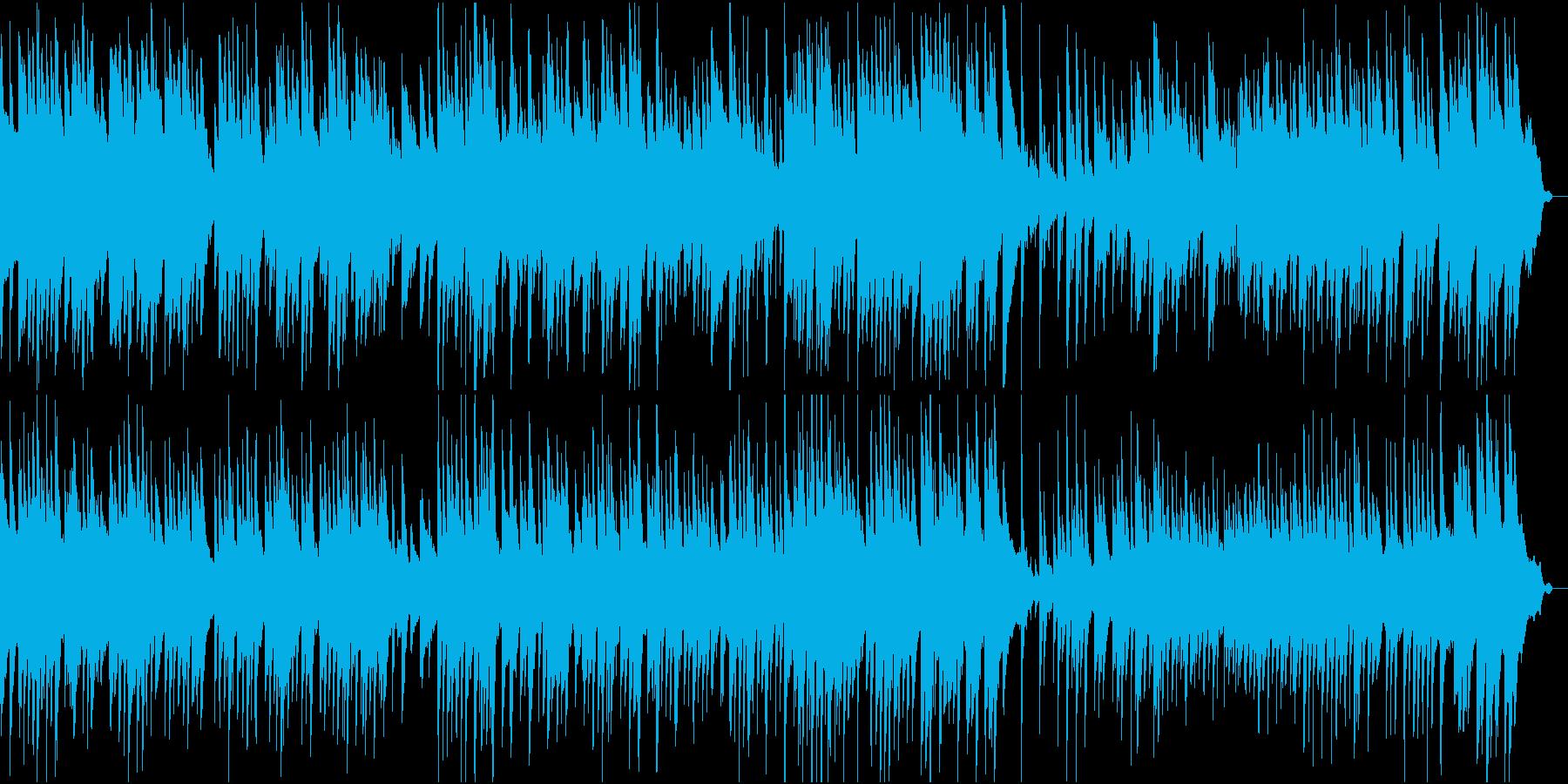 日本的な和風ピアノ・ソロ楽曲。約2分半の再生済みの波形
