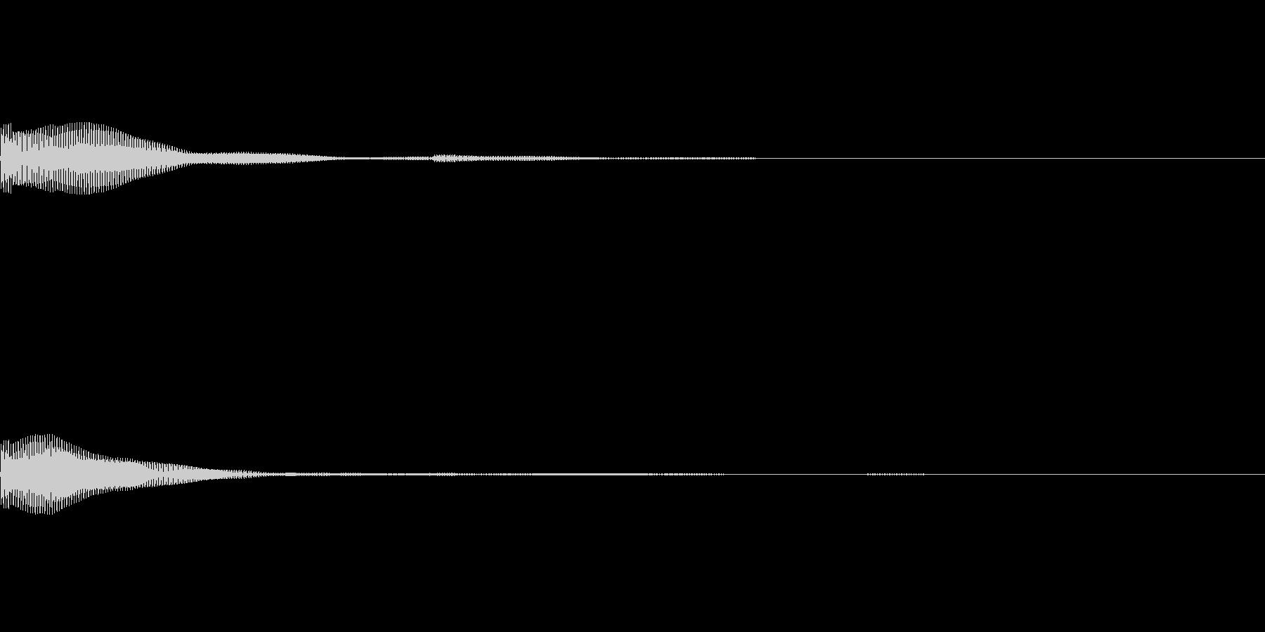 ポン(タイトルメニュー_オンマウス04)の未再生の波形