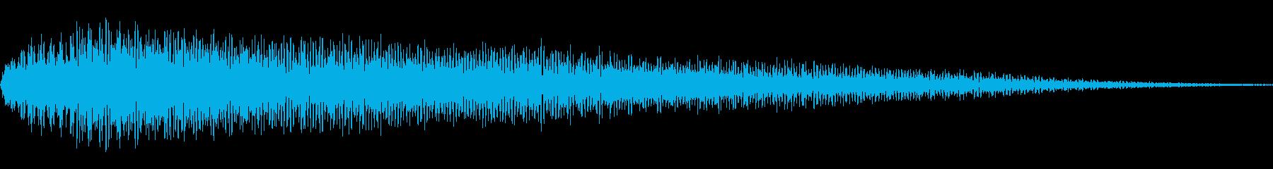ピロン(カーソル移動 表示 決定)の再生済みの波形