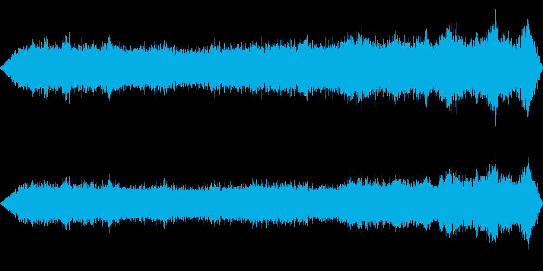 ヘリコプター乗降待機(機外)の再生済みの波形
