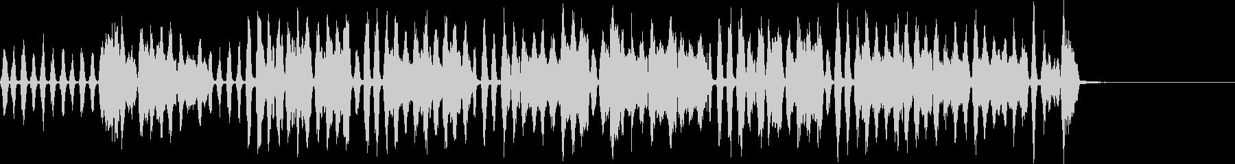 ほのぼのワルツの未再生の波形
