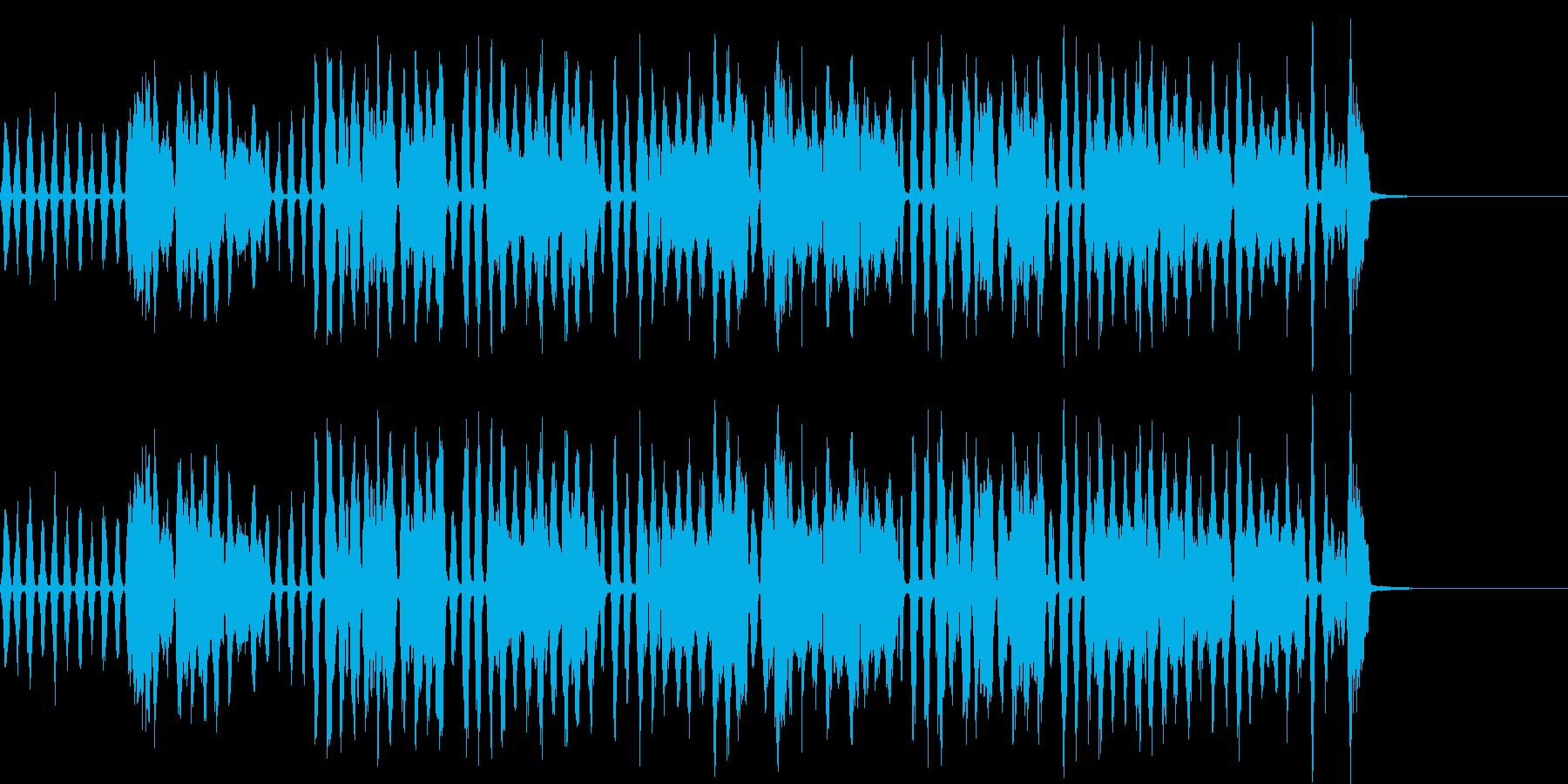 ほのぼのワルツの再生済みの波形