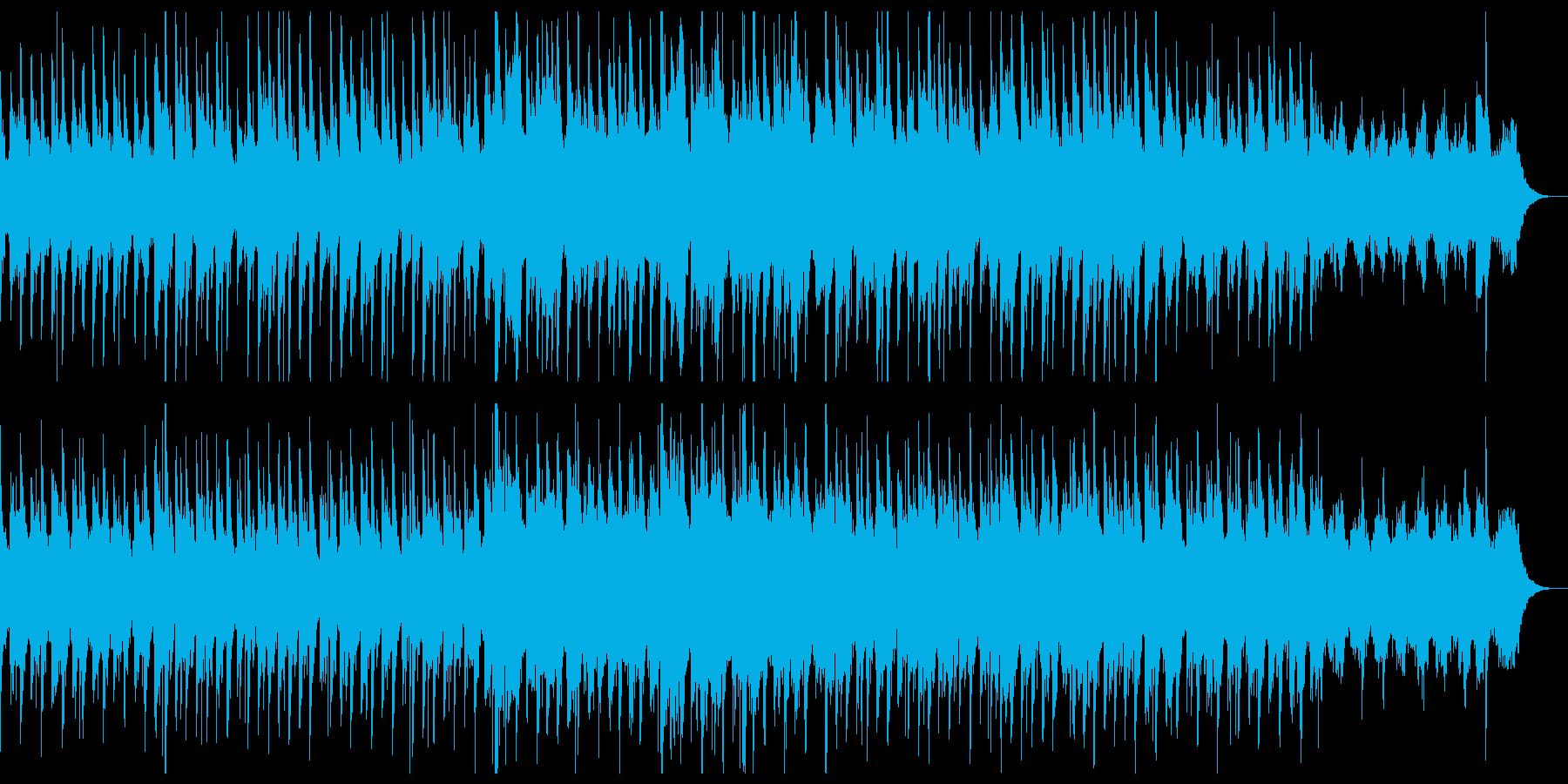 和風で穏やかなチルアウトミュージック。の再生済みの波形