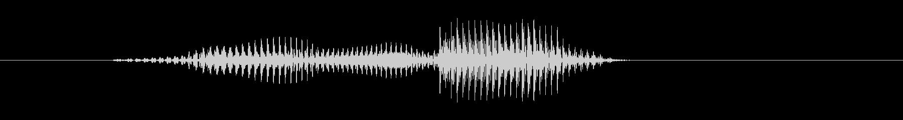 問題の未再生の波形