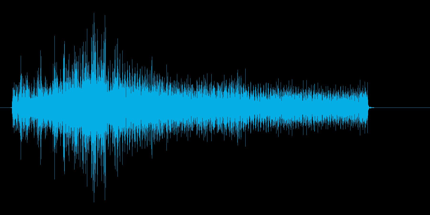 びっくり1の再生済みの波形