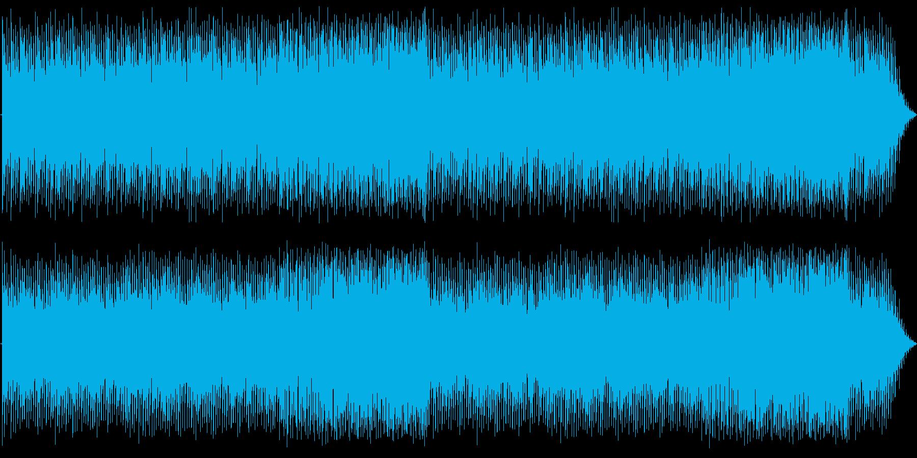 メロウなピアノのEDM:編集版Aの再生済みの波形