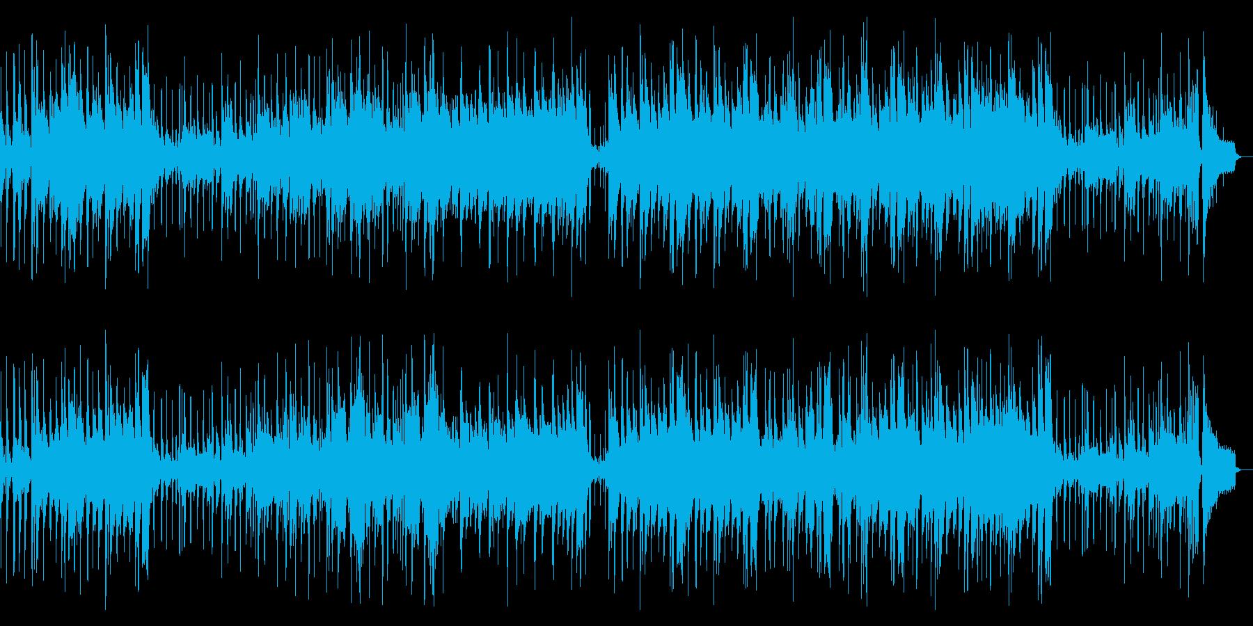 企業VPや映像にJAZZピアノレトロ風の再生済みの波形