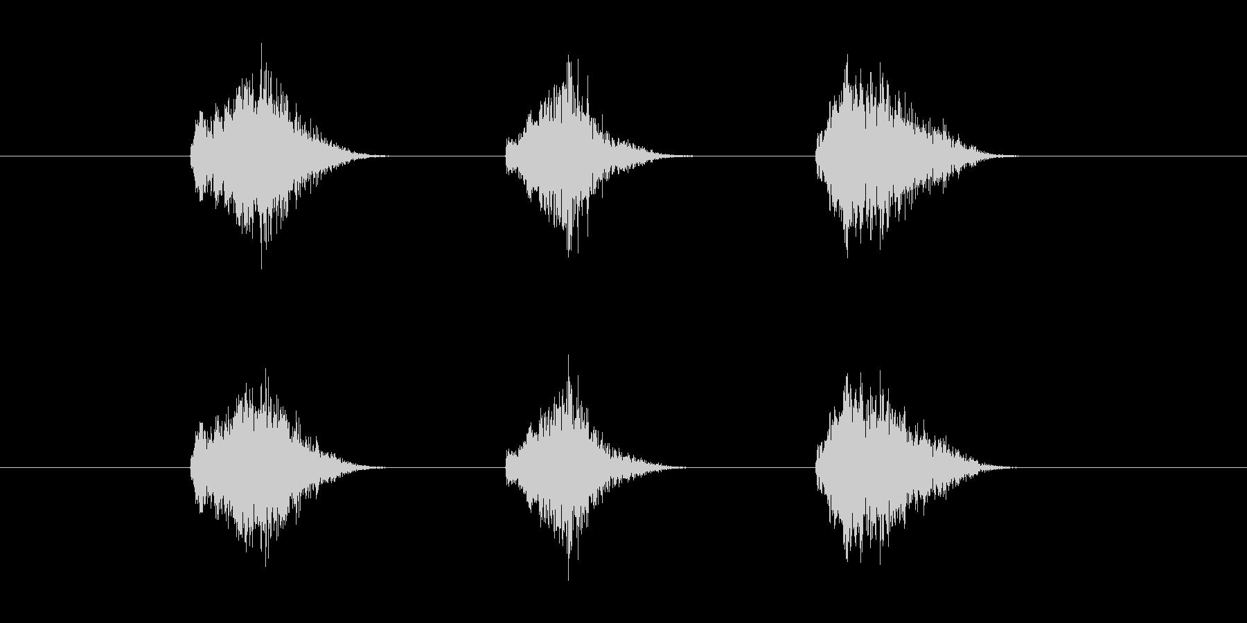 ゲーム等、開始前カウント(3-2-1)Gの未再生の波形