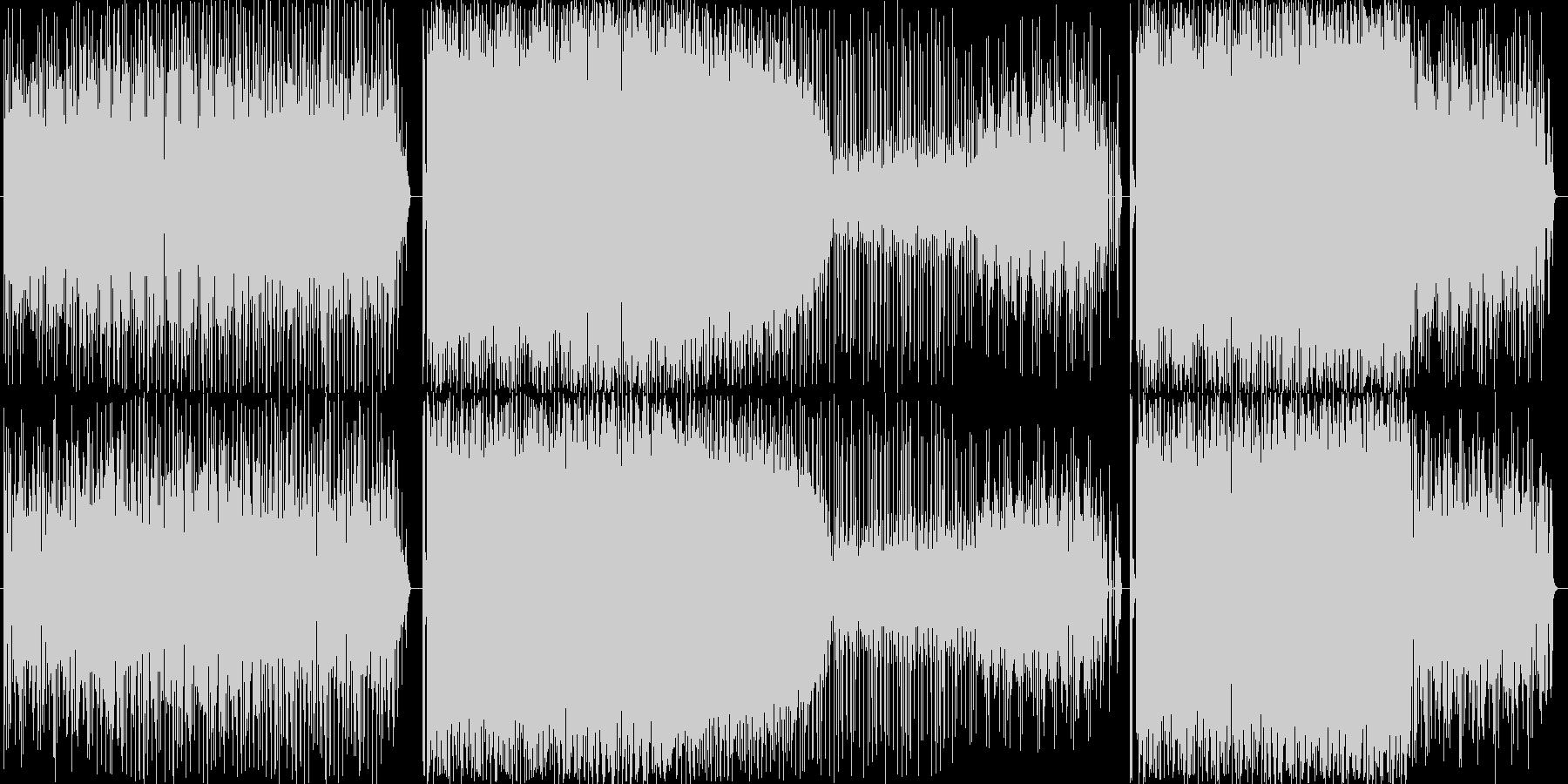 テクノです。バスドラ以外はすべてカオシ…の未再生の波形