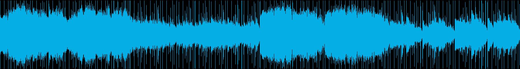 エジプト風の曲の再生済みの波形